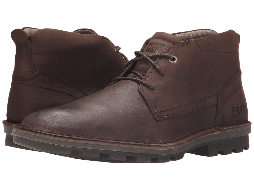 Caterpillar Brady Mid Summer Brown Mens Lace up Boots