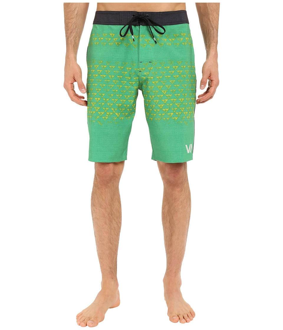 RVCA Makua Trunks Green Mens Shorts