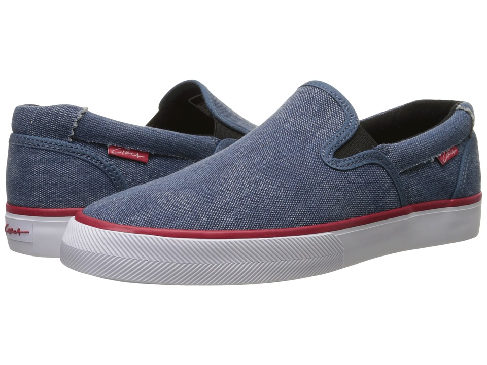 Circa - Corpus (Seaport Blue/Red) Mens Skate Shoes