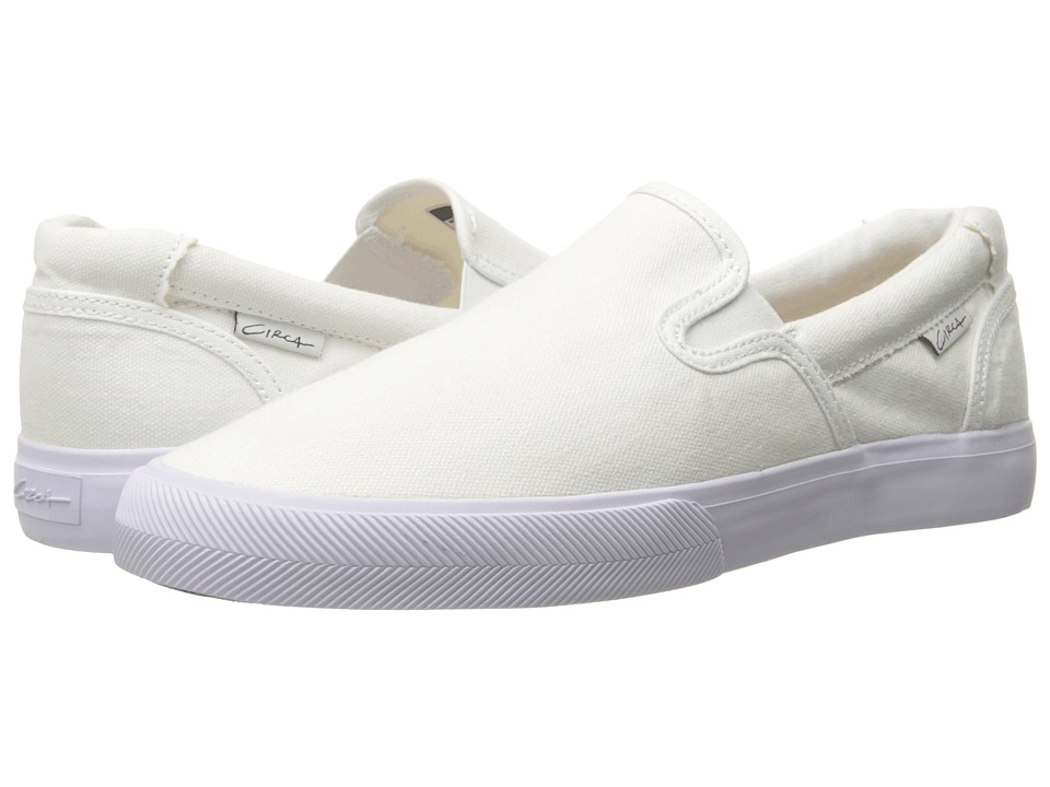 Circa Corpus White/Gum/Canvas Mens Skate Shoes
