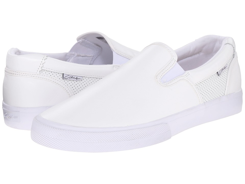Circa Corpus White/Gum Mens Skate Shoes