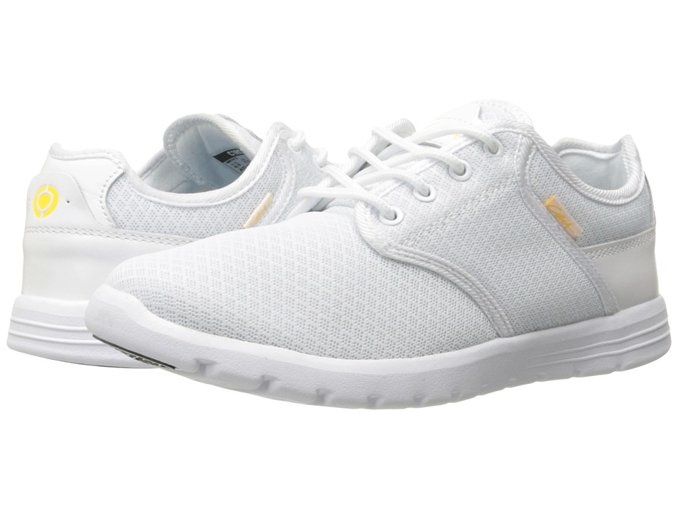Circa Atlas White/Gold Mens Skate Shoes