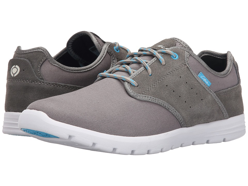 Circa Atlas Gray/White Mens Skate Shoes