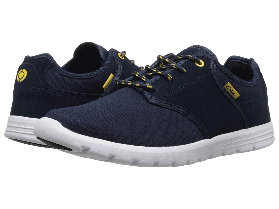 Circa Atlas Navy/Gold Mens Skate Shoes