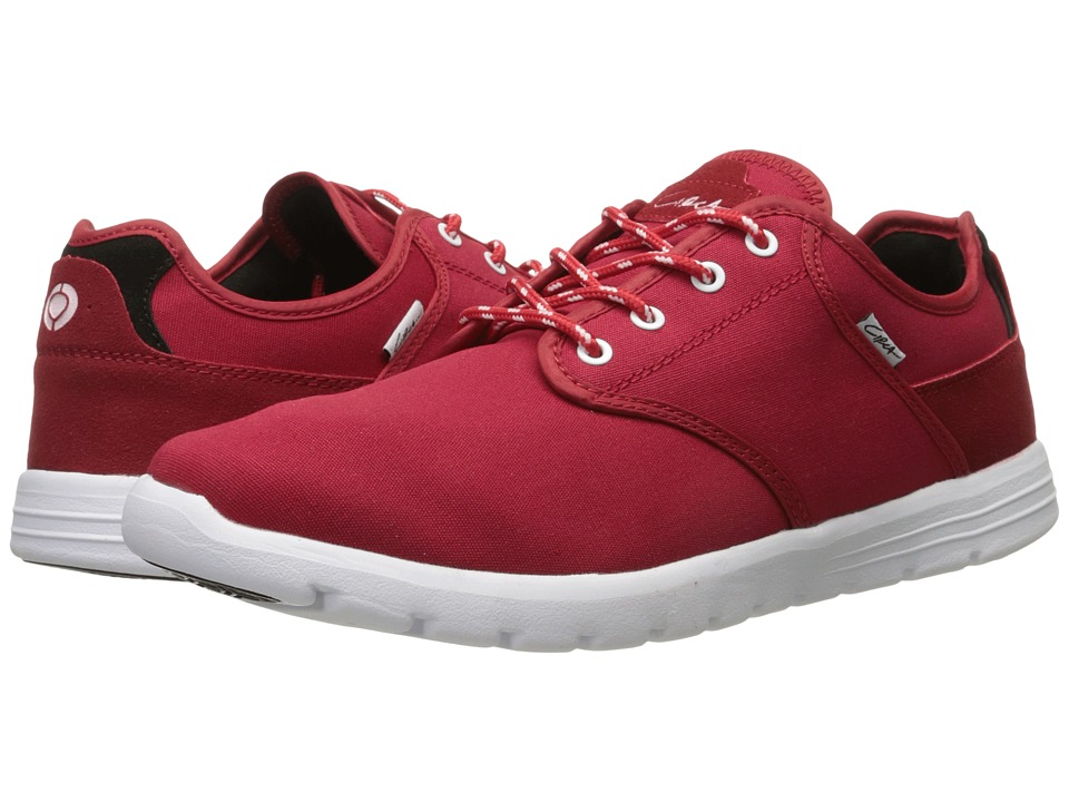 Circa Atlas Red/White Mens Skate Shoes