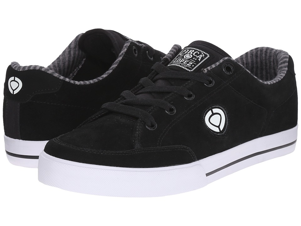 Circa AL50 Slim Black/White Mens Shoes