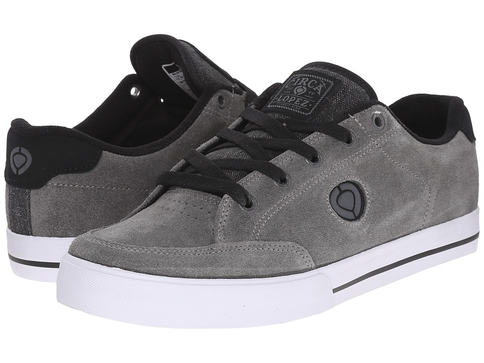 Circa AL50 Slim Frost Gray/Black Mens Shoes