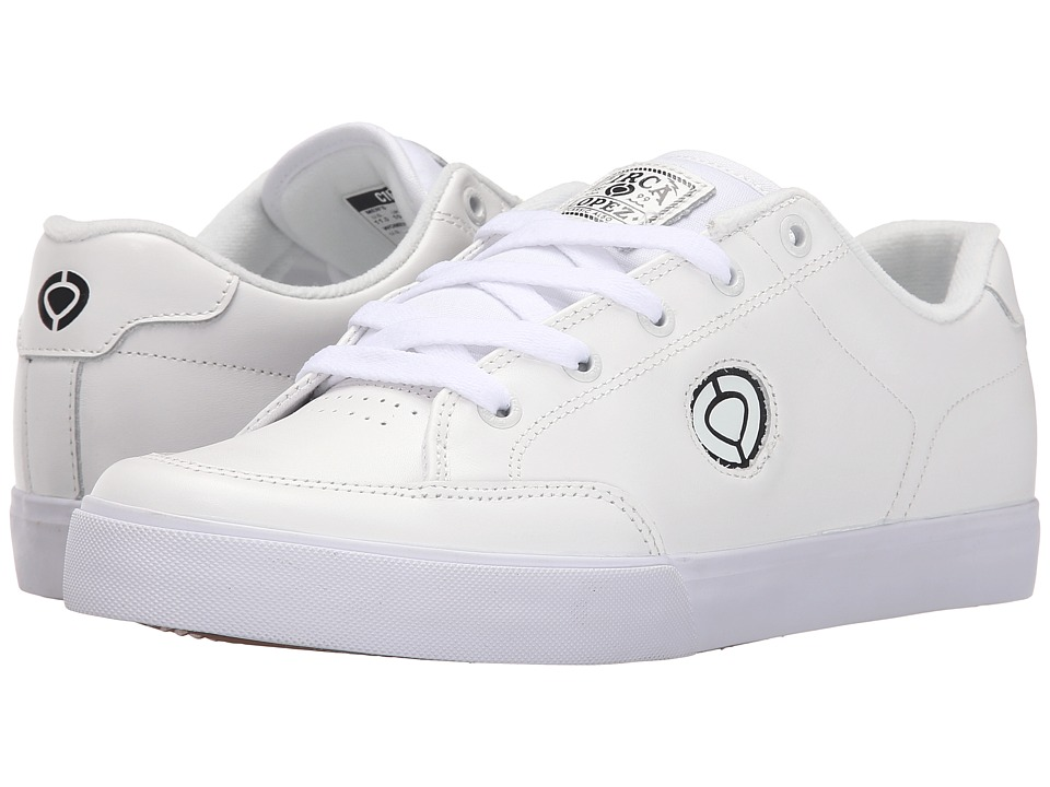 Circa AL50 Slim White/Black/Gum Mens Shoes