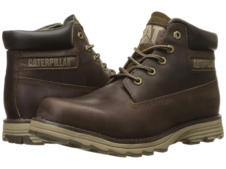 Caterpillar - Founder (Dark Brown) Men