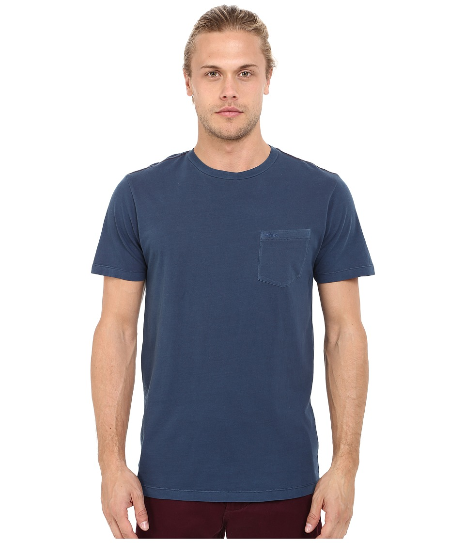 RVCA - PTC2 Pigment Knit (Neptune Blue) Men