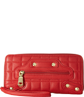 Steve Madden - Diamond Quilt Zip Around Wristlet