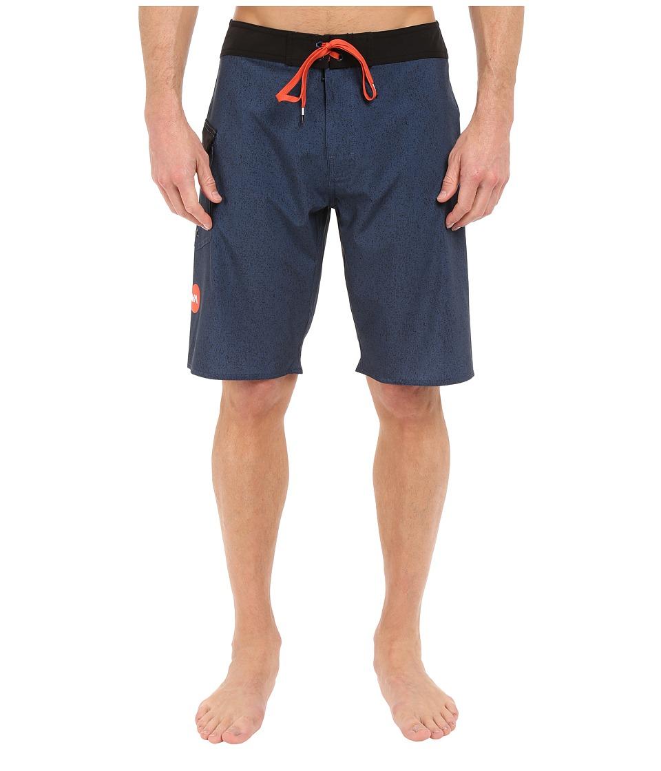 RVCA Register 20 Boardshorts Neptune Blue Mens Swimwear