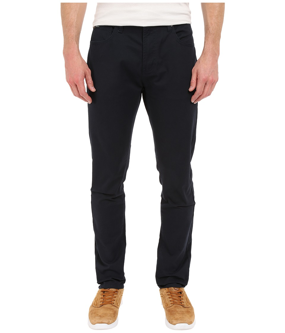 RVCA Daggers Twill Pants Carbon Mens Casual Pants