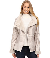 Dylan by True Grit - Vintage Shearling High-Low Jacket