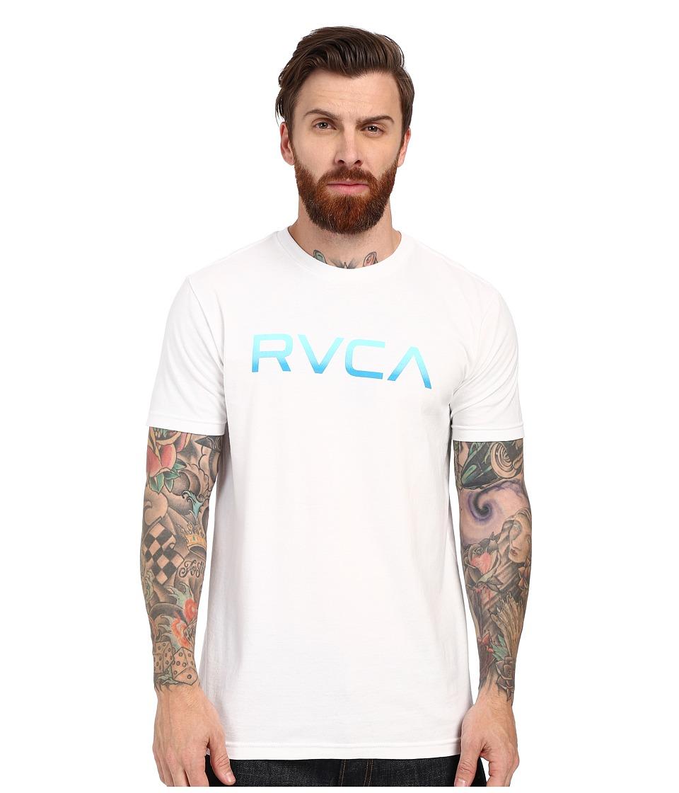 RVCA Big Tee White Mens Short Sleeve Pullover
