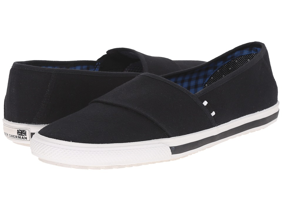 Ben Sherman Chandler Sport Slide Black Mens Slip on Shoes