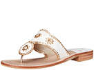 Jack Rogers - Nantucket Gold (White/Gold)