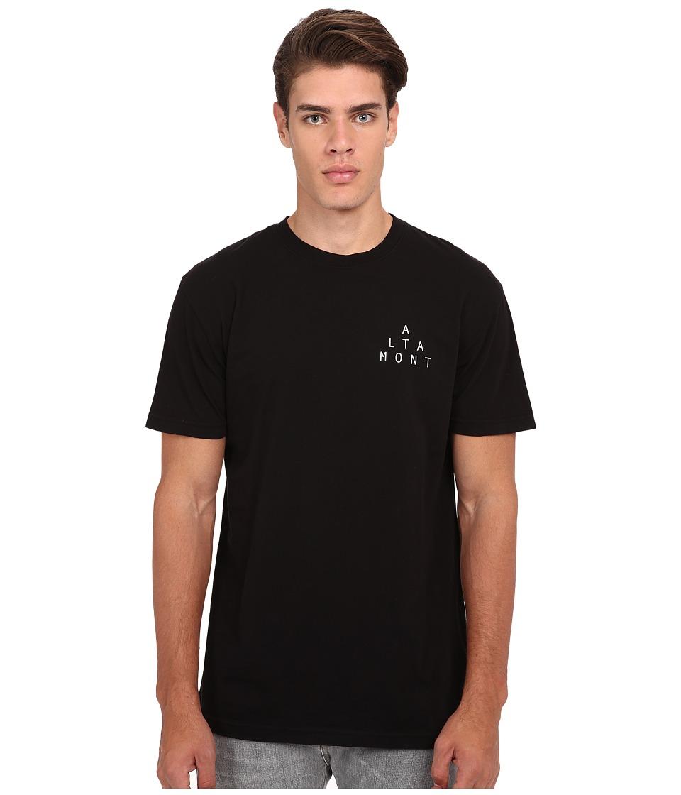 Altamont Mini Lockstep Black Mens T Shirt