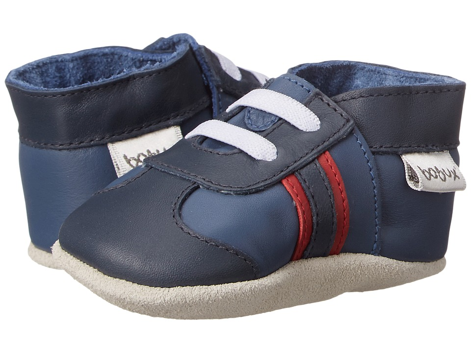 Bobux Kids - Soft Sole Sport Shoe (Infant) (Cobalt/Navy/Red) Boys Shoes