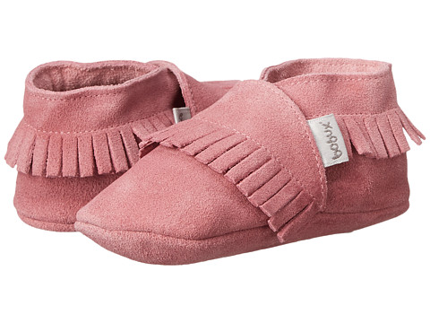 Bobux Kids Soft Sole Mocassin (Infant) - Pink
