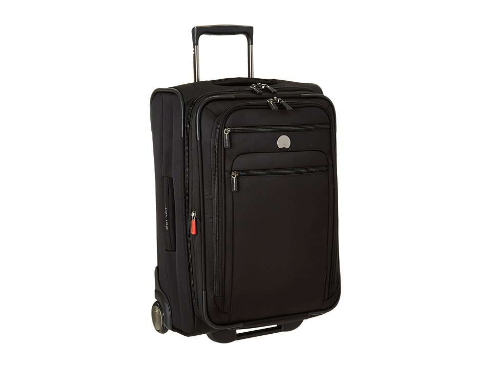 Delsey Helium Sky 2.0 Carry On 2 Wheel Exp. Trolley Black Luggage