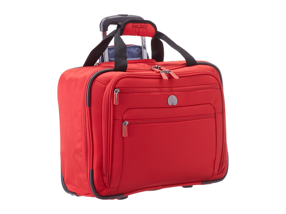 Delsey Helium Sky 2.0 Trolley Tote Red Luggage