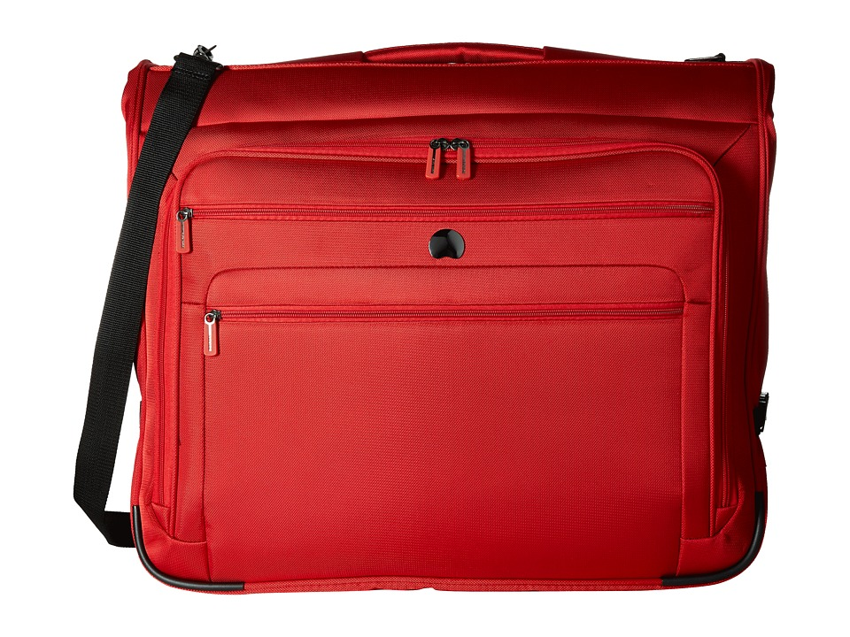 Delsey Helium Sky 2.0 B/O Garment Bag Red Luggage