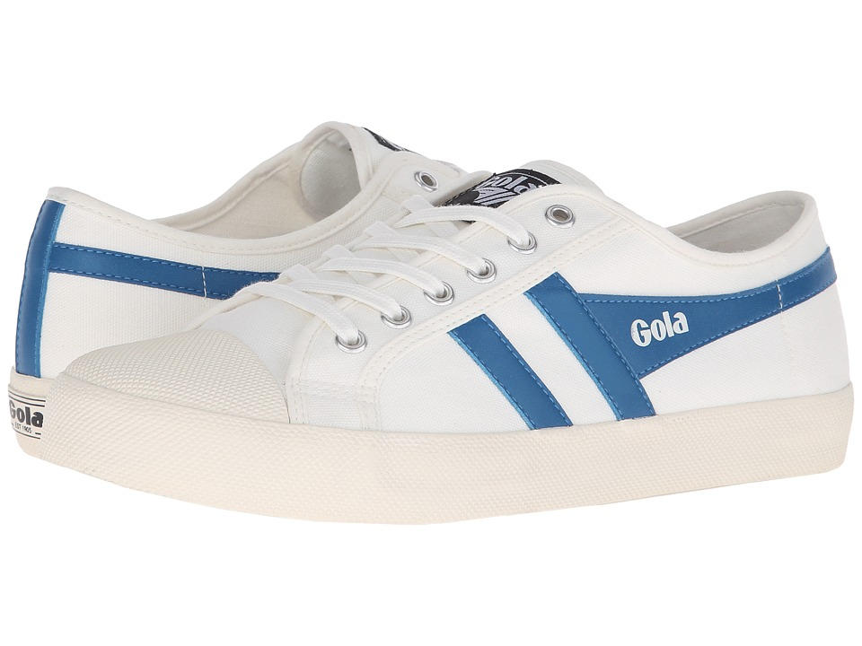 Gola Coaster (Off-White/Ocean Blue) Men