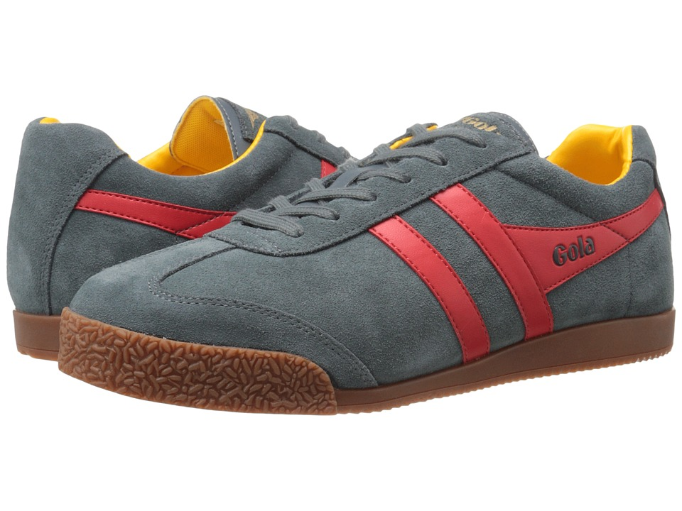 Gola - Harrier (Grey/Red/Sun) Mens  Shoes