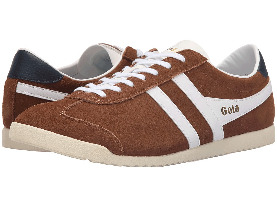 Gola Bullet Suede Tobacco/White Mens Shoes