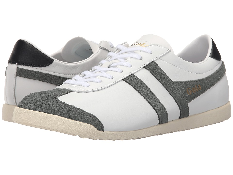 Gola Bullet Leather White/Grey Mens Shoes