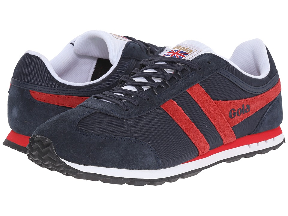Gola Boston Navy/Red Mens Shoes