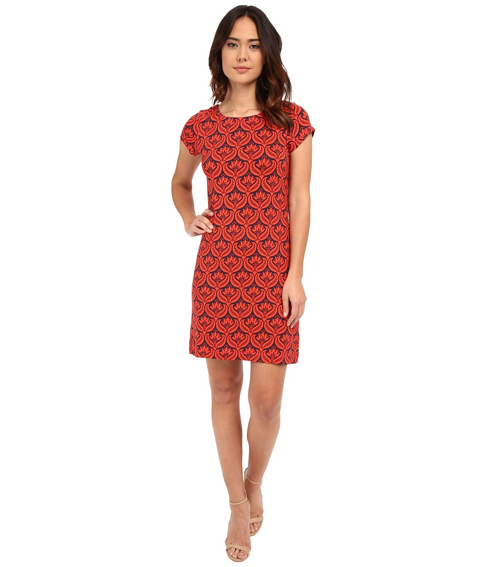 Hatley T Shirt Dress Embossed Flowers Womens Dress