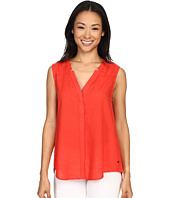 Hatley - Sleeveless Button Down Blouse