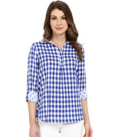 Hatley - Bonded Cotton Button Down Top