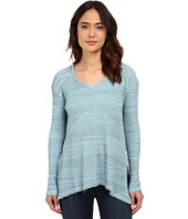 Mod-o-doc - Spacedyed Thermal Seamed V-Neck Pullover
