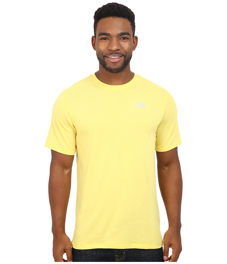 The North Face - Short Sleeve Crag Crew (Goldfinch Yellow) Men