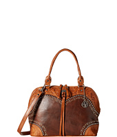 American West - Chestnut Ridge Zip-Around Satchel/Crossbody