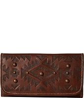 American West - Mystic Shadow Tri-Fold Wallet