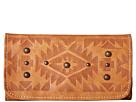 American West Mystic Shadow Tri-Fold Wallet (Golden Tan)