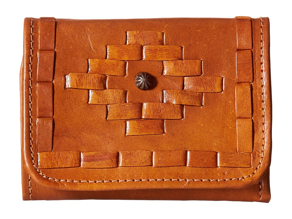American West - Amber Waves Tri-Fold French Wallet (Golden Tan) Wallet Handbags