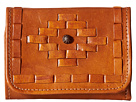 American West Amber Waves Tri-Fold French Wallet (Golden Tan)