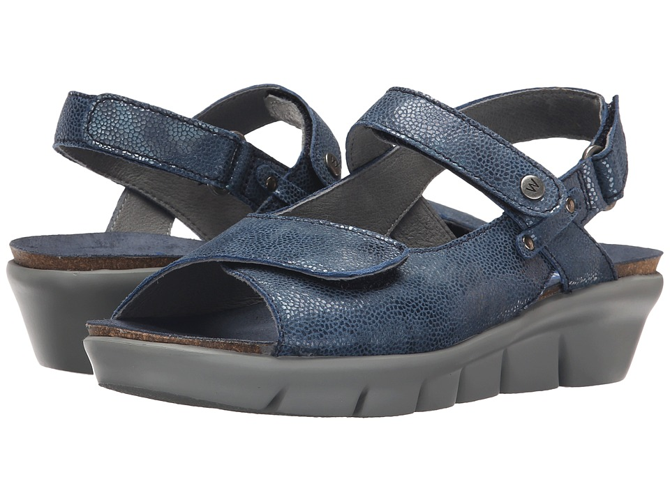Wolky Twinkle Ocean Womens Sandals