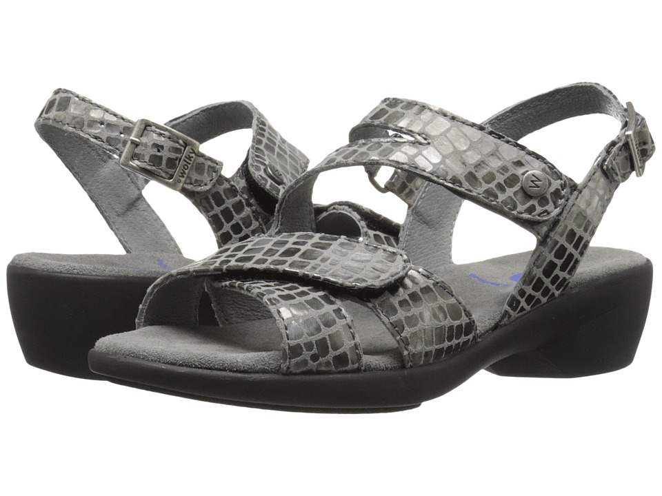 Wolky Fria Grey Womens Sandals