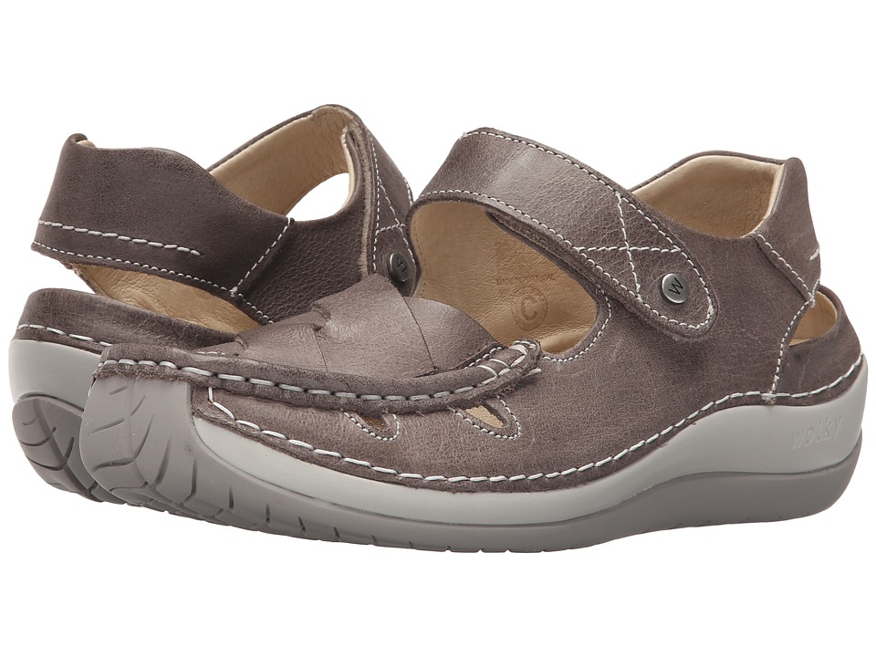 Wolky Venture Grey Womens Sandals