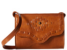 American West Gameday Small Crossbody Bag (Amber Waves Golden Tan)