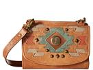 American West Zuni Passage Small Crossbody/Wallet (Golden Tan)