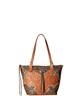 American West - Heart of Gold Zip Top Bucket Tote