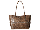American West Carry-on Tote (Distressed Charcoal Brown)