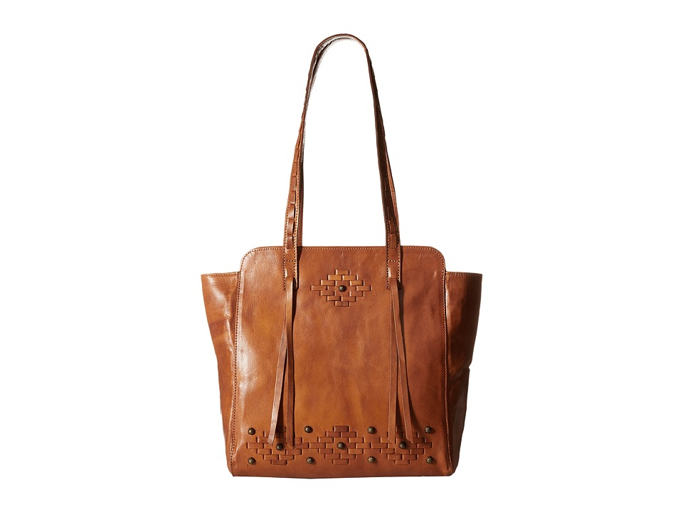 American West - Amber Waves Zip Top Tote (Golden Tan) Tote Handbags
